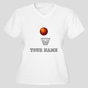 Basketball Net Plus Size T-Shirt