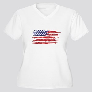 home of the brave Plus Size T-Shirt