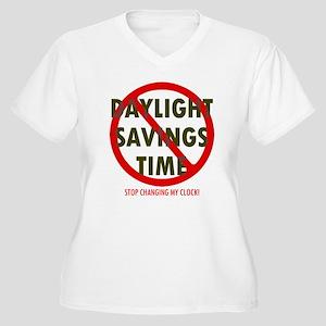 stopDST Plus Size T-Shirt