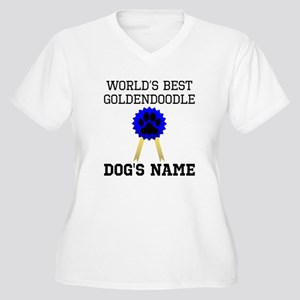 Worlds Best Goldendoodle (Custom) Plus Size T-Shir