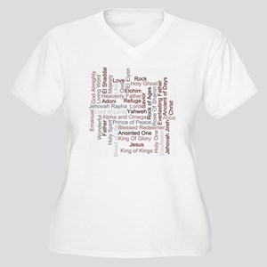 Names Of God Plus Size T-Shirt