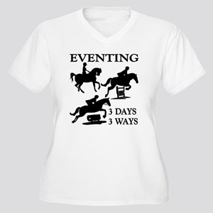 EVENTING 3 Day 3 Women's Plus Size V-Neck T-Shirt
