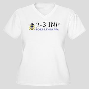 2nd Bn 3rd Infantry Regiment Women's Plus Size V-N