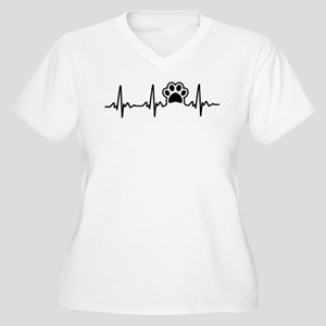 Paw Lifeline Plus Size T-Shirt