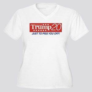Donald Trump '20 Women's Plus Size V-Neck T-Shirt