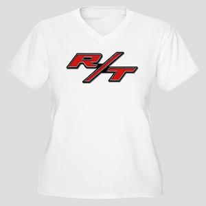 R/T Women's Plus Size V-Neck T-Shirt