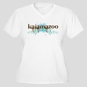 Kalamazoo Michigan Women's Plus Size V-Neck T-Shir