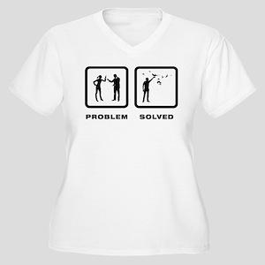 Pigeon Lover Women's Plus Size V-Neck T-Shirt