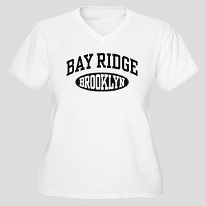 Bay Ridge Brooklyn Women's Plus Size V-Neck T-Shir