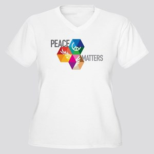 PEACE MATTERS Plus Size T-Shirt