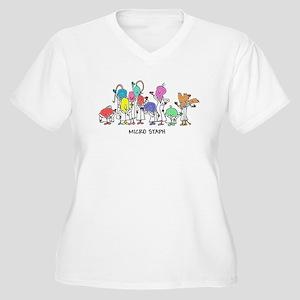 Micro Staph Plus Size T-Shirt