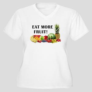 Eat More Fruit Plus Size T-Shirt