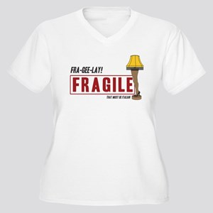 Fragile - That must be Italian Women's Plus Size V
