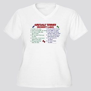 Airedale Terrier Property Laws 2 Women's Plus Size