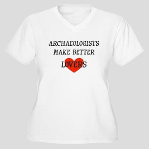 Archaeologist gift Women's Plus Size V-Neck T-Shir
