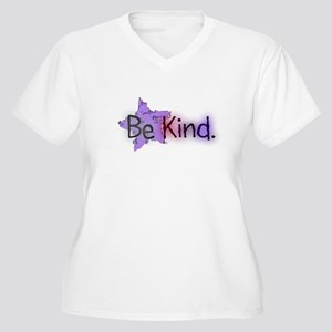 Be Kind with Colorful Text and Purple Star Plus Si