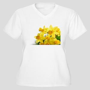 Daffodils Style Plus Size T-Shirt