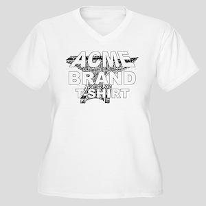 Acme Brand Women's Plus Size V-Neck T-Shirt