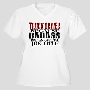 Badass Trucker Plus Size T-Shirt