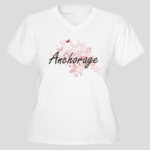 Anchorage Alaska City Artistic d Plus Size T-Shirt