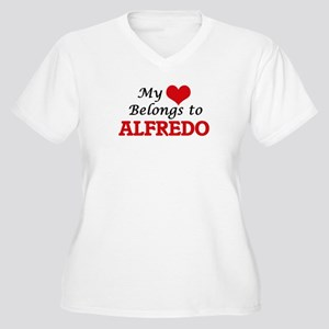 My heart belongs to Alfredo Plus Size T-Shirt