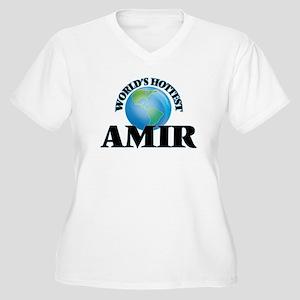 World's Hottest Amir Plus Size T-Shirt