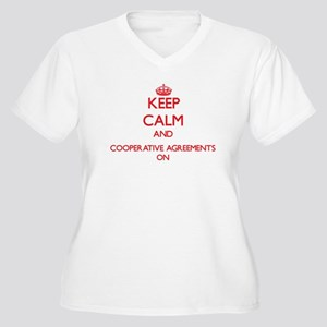 Cooperative Agreements Plus Size T-Shirt