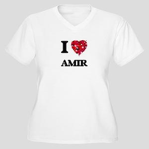 I Love Amir Plus Size T-Shirt