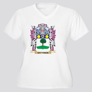 Hattrick Coat of Arms (Family Cr Plus Size T-Shirt