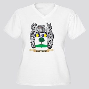 Hattrick Coat of Arms - Family C Plus Size T-Shirt