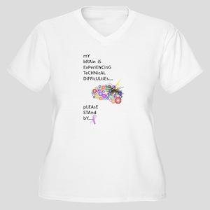 Tech Difficulties Plus Size T-Shirt