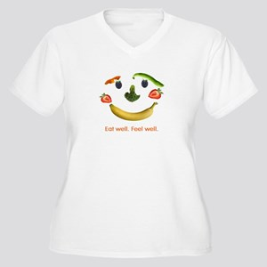 Fruits and Vegetables Women's Plus Size V-Neck T-S