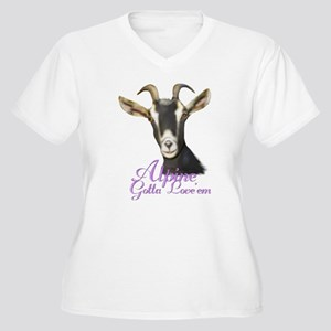 Alpine Goat Gotta Love'em Women's Plus Size V-Neck