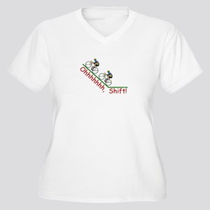 Ohhh Shift COLOR Plus Size T-Shirt