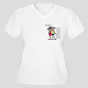 Marriage Humor Women's Plus Size V-Neck T-Shirt