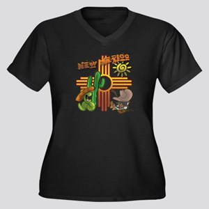 New Mexico Tequila Worm Siesta Plus Size T-Shirt