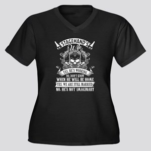 I'm Stagehand's Wife T Shirt Plus Size T-Shirt