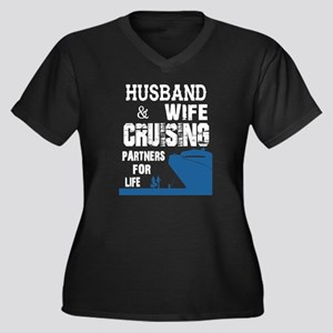 Husband And Wife Cruising Partne Plus Size T-Shirt