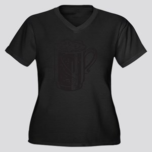 Beer Plus Size T-Shirt