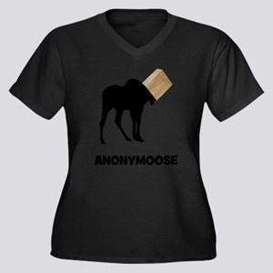 Anonymoose Plus Size T-Shirt