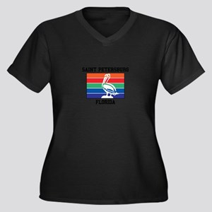 Saint Petersburg Plus Size T-Shirt