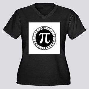 Pi sign in circle Plus Size T-Shirt