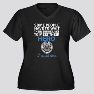Police Officer's Mom Plus Size T-Shirt