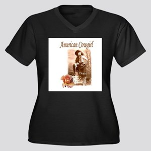 American Cowgirl Plus Size T-Shirt