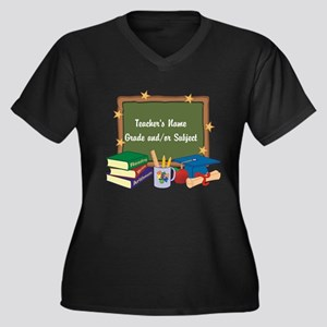Custom Teacher Plus Size T-Shirt