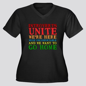 Introverts Unite Plus Size T-Shirt