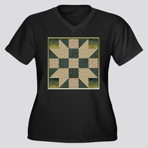 Patch Star Gold and Green copy Plus Size T-Shirt