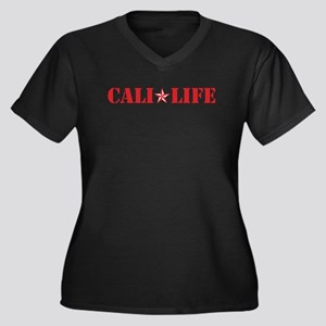cali life 1b red Plus Size T-Shirt
