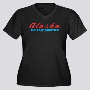 Alaska - Las Women's Plus Size V-Neck Dark T-Shirt