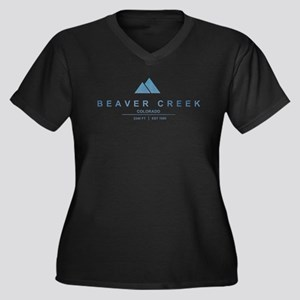 Beaver Creek Ski Resort Colorado Plus Size T-Shirt